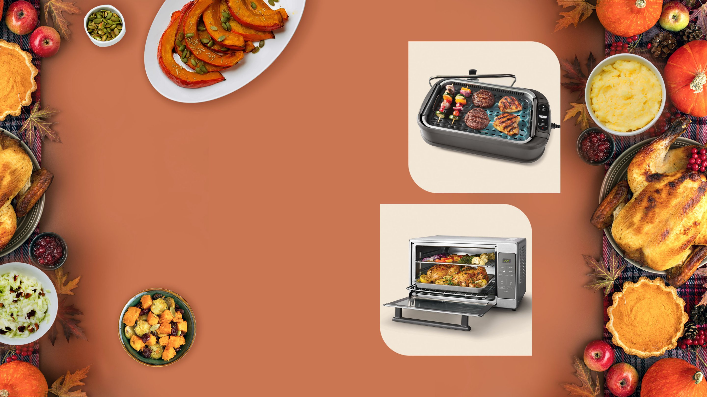 cooking appliances and food