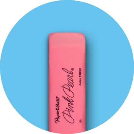 Rectangular rubber eraser