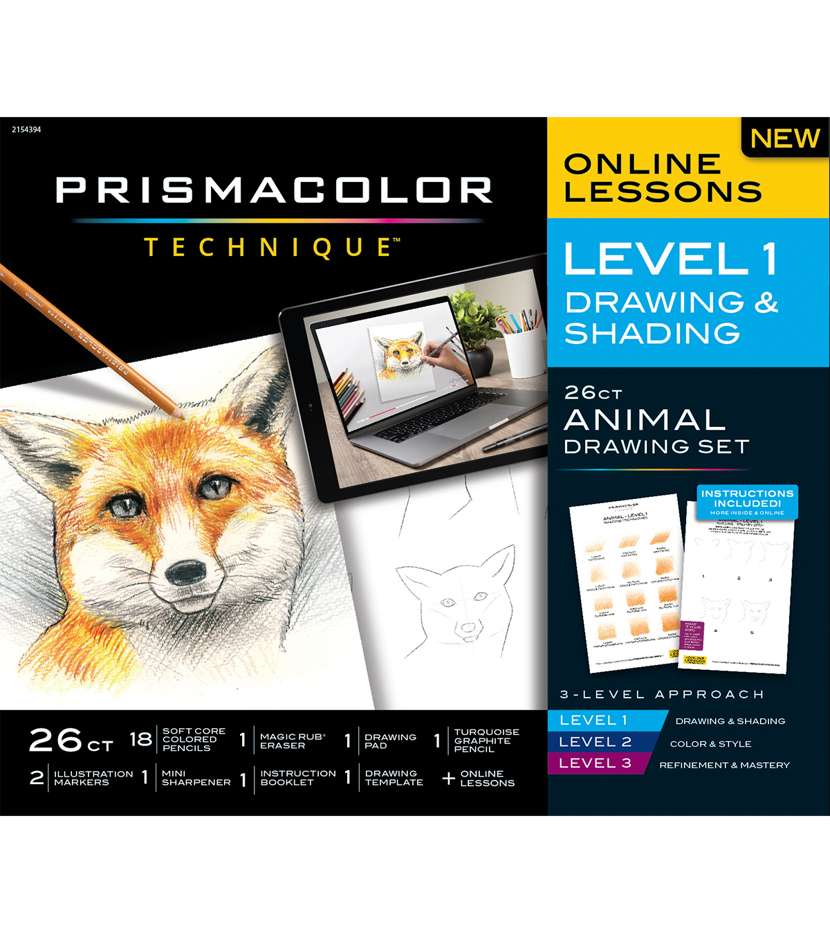 Animal drawing set