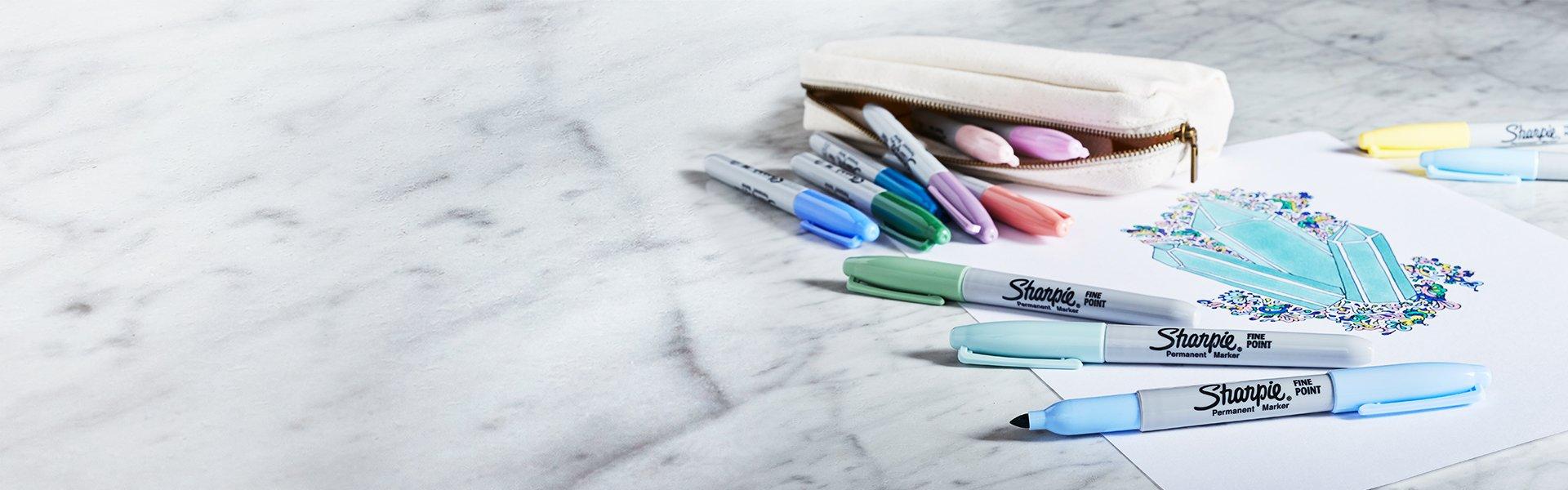mystic sharpie permanent markers