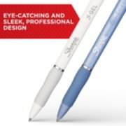 S gel pens are eye catching and have a sleek professional design image number 1