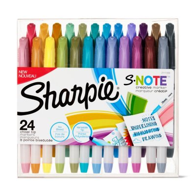 Sharpie S-Note Creative Markers, Chisel Tip
