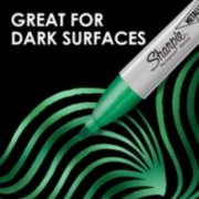 metallic permanent marker, great for dark surfaces image number 2