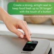 vacuum sealer helps keep food fresh image number 2