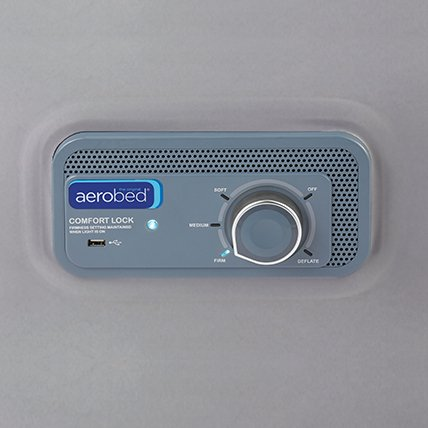 comfort lock controls on air bed