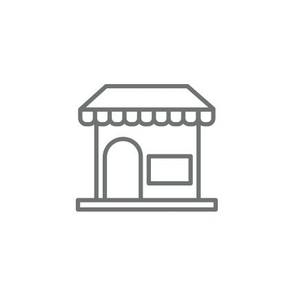 Rendering of a storefront.