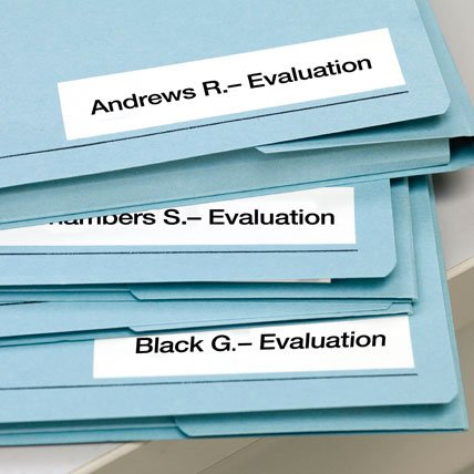 Labeled evaluation packets.