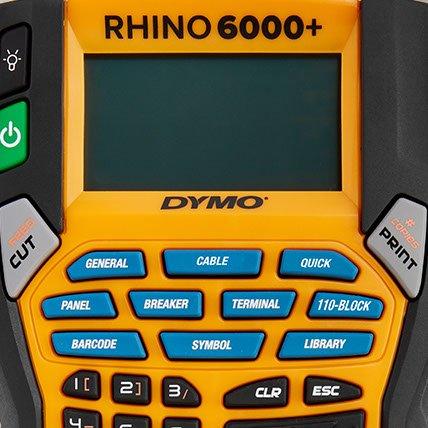 A closeup of a Rhino 6000 plus graphical display.