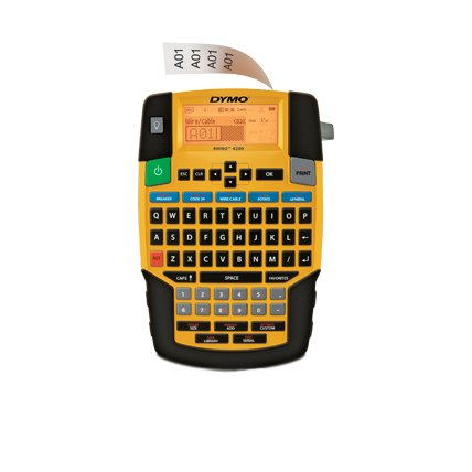yellow and black device with keyboard