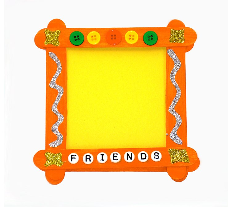 Picture frame craft project