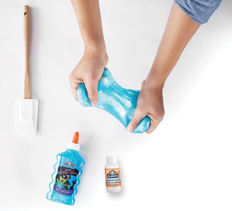 Glitter slime ingredients