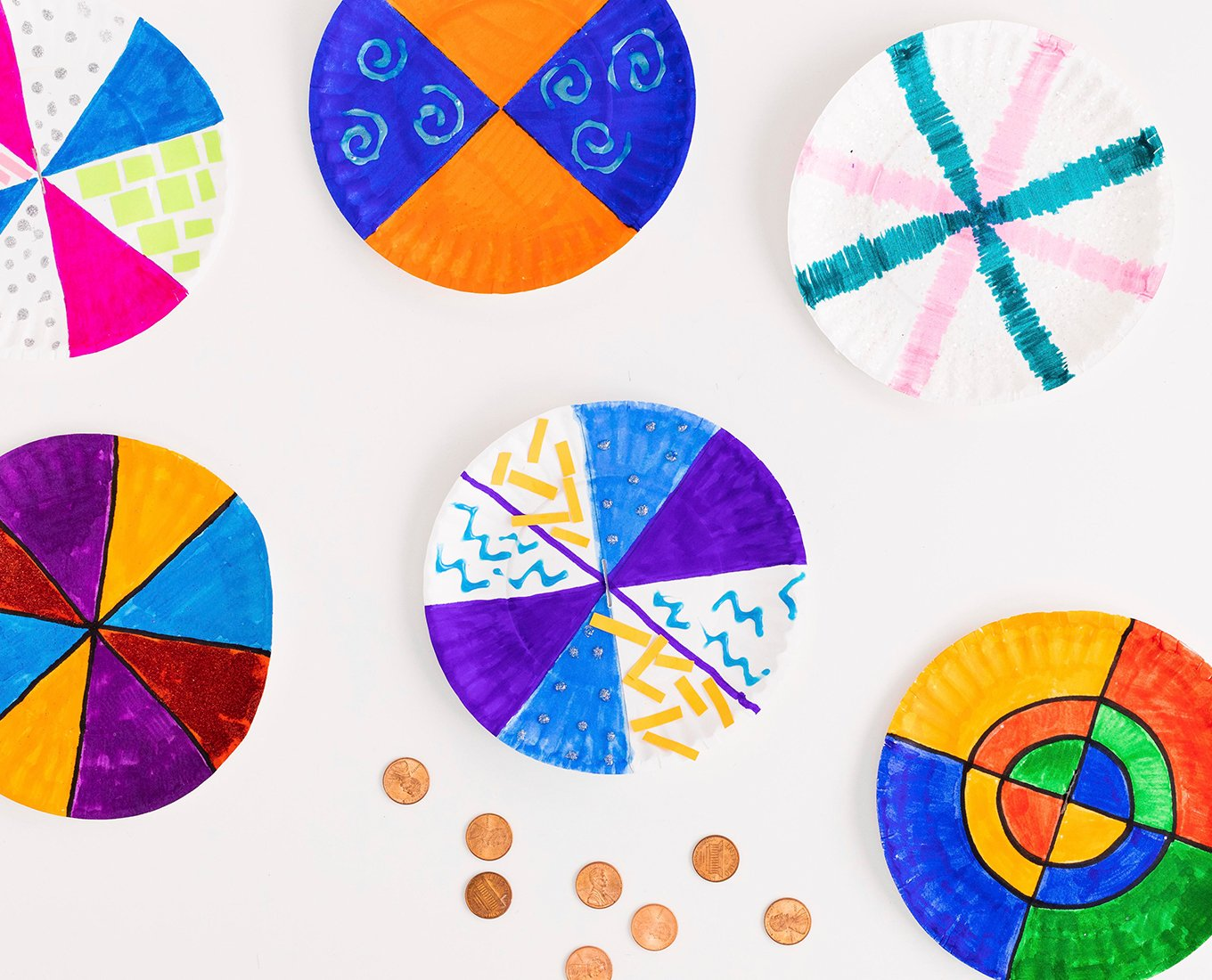 penny spinner at home activity