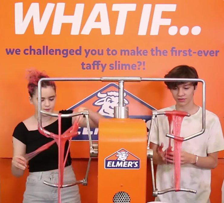 slime machine making slime