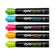 neon dry erase markers image number 2
