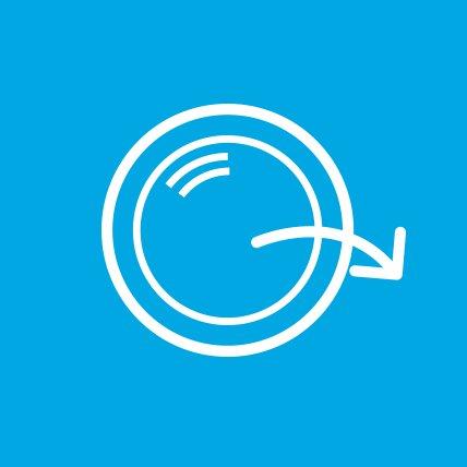 alarm with arrow graphic