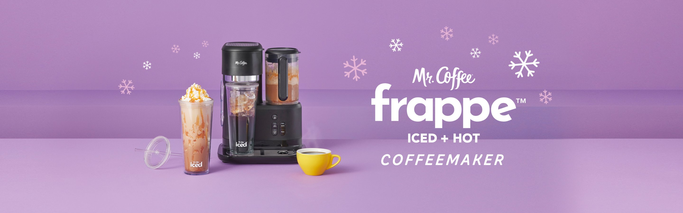 frappe iced and hot coffeemaker