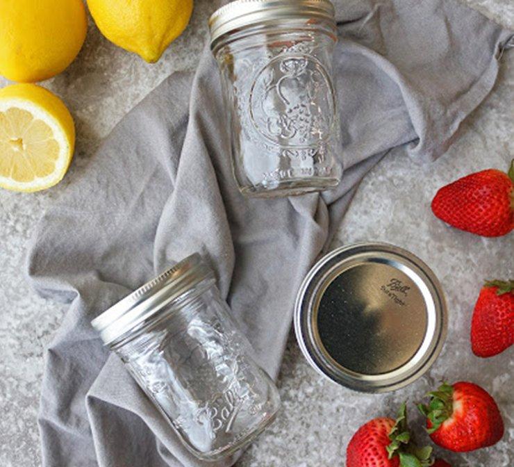 Glass mason jars