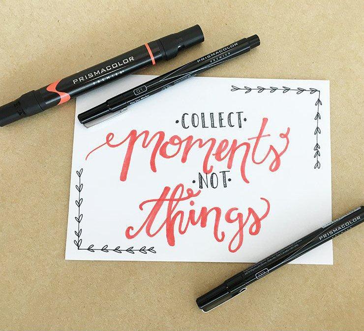 Prismacolor art marker and illustrator pens