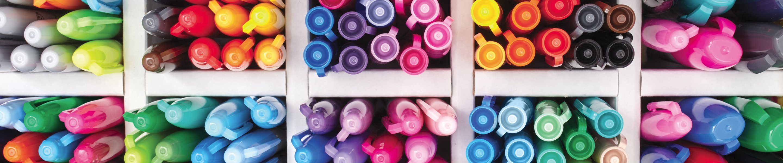 Assorted Sharpie markers