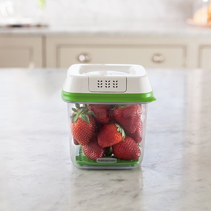 Rubbermaid FreshWorks produce storage containers small