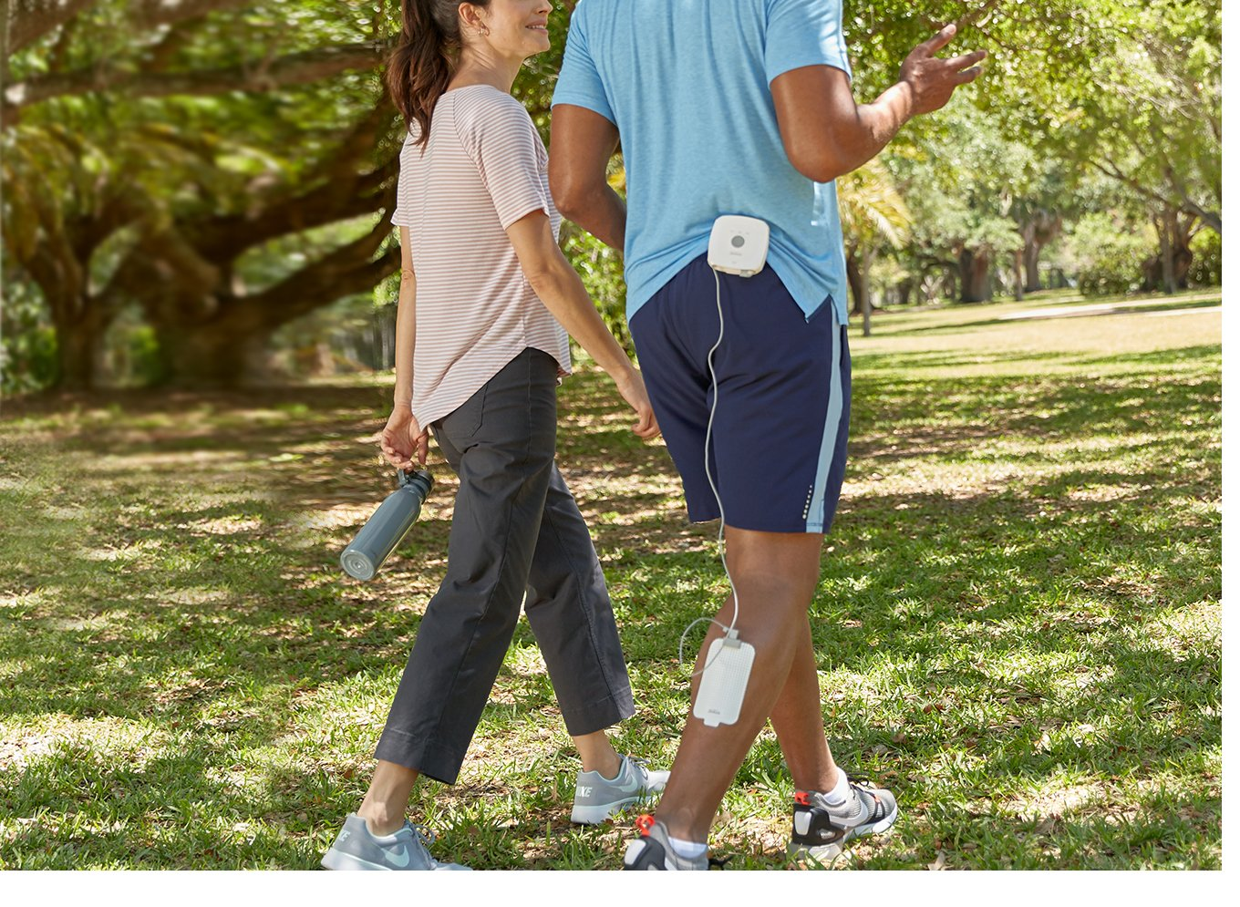 Keep moving while getting heat therapy with Sunbeam's GoHeat Patches.