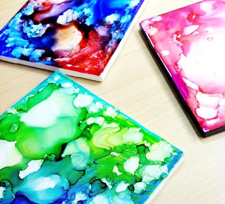 watercolorcoastersdecoratedwithsharpietile.jpg