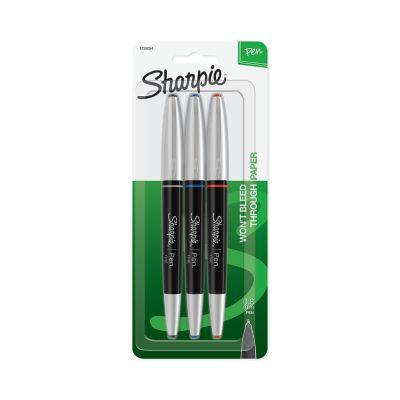 Sharpie Grip Pens, Fine Point (0.8mm)
