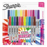 color burst assorted sharpie markers image number 0