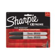 2 pack extreme black sharpie markers image number 0