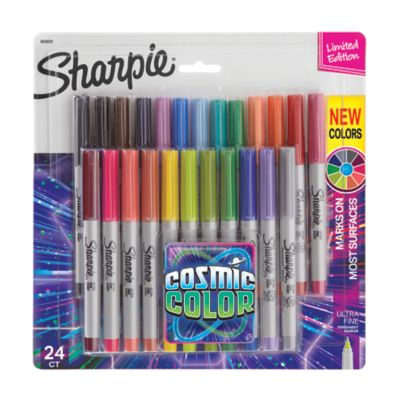 Sharpie Permanent Markers, Cosmic Color, Ultra Fine Point