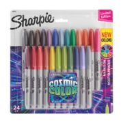 24 count cosmic color permanent markers image number 0