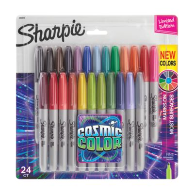 Sharpie Permanent Markers, Cosmic Color, Fine Point