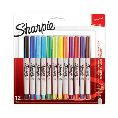 Sharpie Permanent Markers, Ultra Fine Point