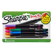 8 count brush pen pack image number 0