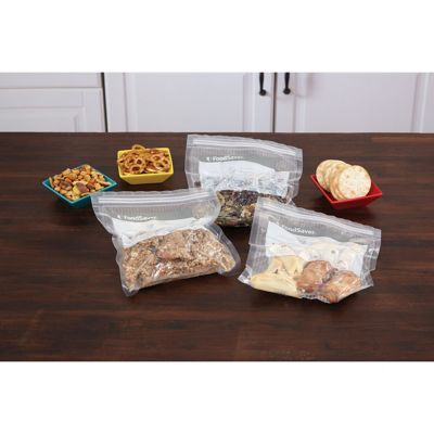 FoodSaver® Vacuum Zipper Bags - 30 Quart & 20 Gallon Bag Combo Pack