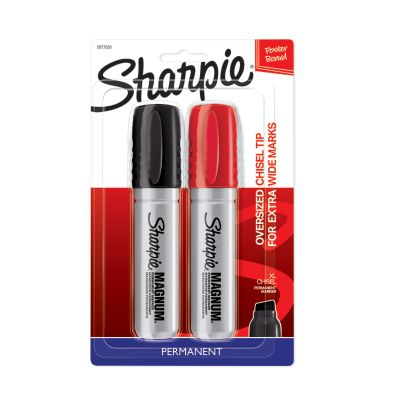 Sharpie Magnum Permanent Markers, Oversized Chisel Tip