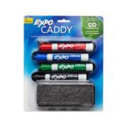 dry erase markers and eraser packaging image number 0