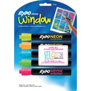 dry erase neon markers image number 1