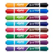 2 in 1 dry erase chisel tip markers image number 1