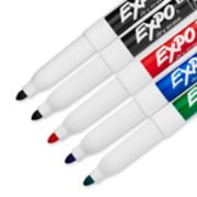 assorted color dry erase markers image number 1