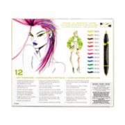 12 count art markers image number 1