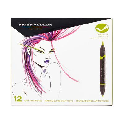 Premier® Double-Ended Art Marker Kits, Fine and Brush Tip