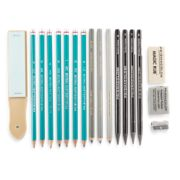 18 count graphite drawing set tin image number 3