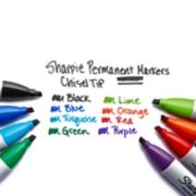 sharpie permanent markers chisel tip colors image number 3