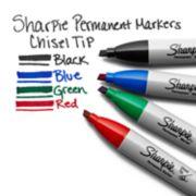 sharpie marker colors black green red blue image number 3
