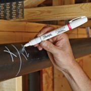 writing on pipe with metallic marker image number 3