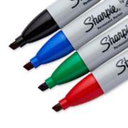 assorted color chisel tip sharpie markers image number 2