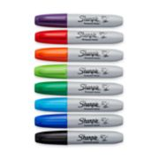 assorted color chisel tip sharpie markers image number 1