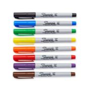 8 count assorted ultra fine sharpie markers image number 1
