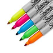 5 count assorted neon sharpie markers image number 2